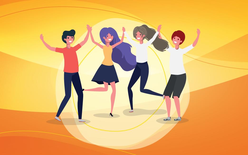 Atividade especial Dança circular
